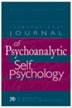 Cover: International Journal Of Psychoanalytic Self Psychology
