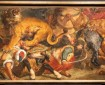 Delacroix: Lion Hunt (fragment)