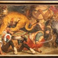 Delacroix: Lion Hunt (fragment)