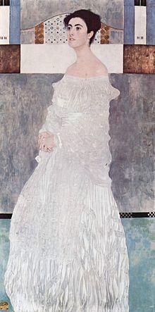 Gustav Klimt's painting of Greta, Wittgenstein's sister