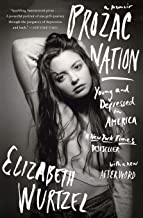 Elizabeth Wurtzel (her young self): Cover Art: Prozac Nation